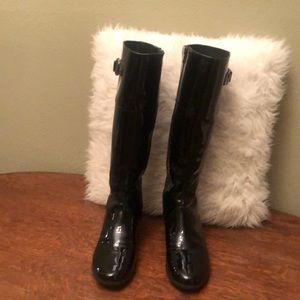Cole Haan Nike Air Patent Leather Rainboots